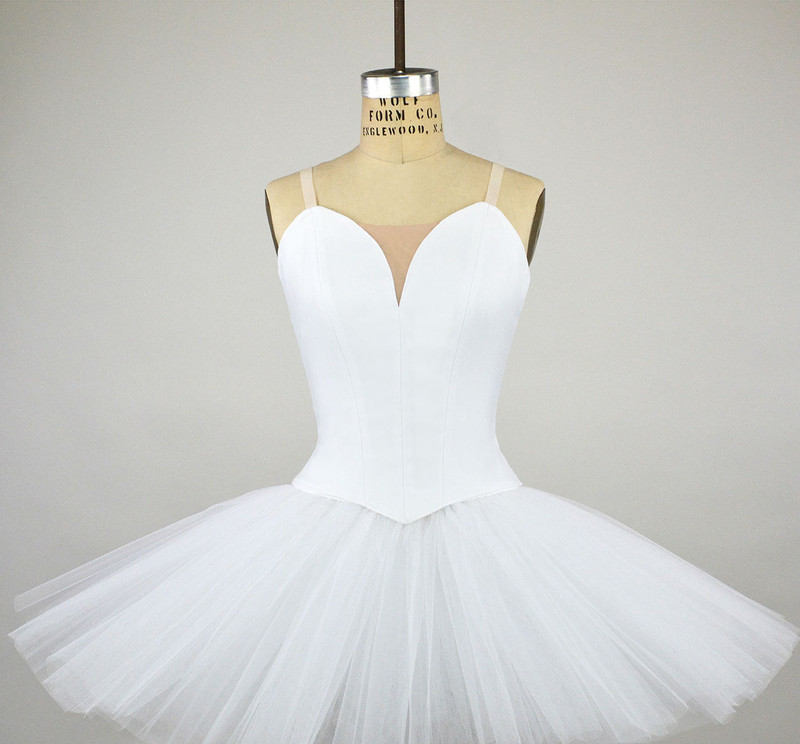 Conservatory C500N bodice with C709 classical tutu
