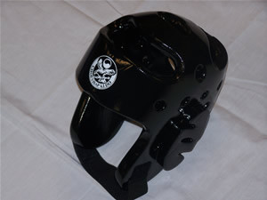 "Our Sparmaster line of dipped-foam sparring gear is made of extra-dense durable foam that will not crush or shred. The coating is made of heavy-duty washable vinyl that resists tearing and cracking.  There are 6 popular colors to choose, multi coating process and air release vented ear protection. Not recommended for contact sparring.  Size	Head Circumference Child	20"" Small	21"" Medium	22"" Large	23"" X-Large	24"""