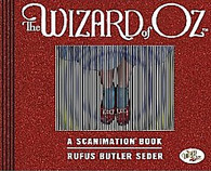 The Wizard of Oz Scanimation Book