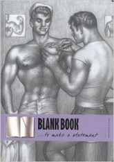 Tom of Finland Blank Note Book
