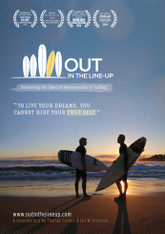 Out in the Line-Up DVD : Uncovering the Taboo of Homosexuality in Surfing