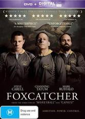 Foxcatcher DVD (+ Ultraviolet)