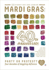 Mardi Gras 40th Anniversary Magazine  (Copies signed by the Editor and several of the Contributors available)