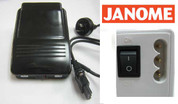 Buy your Janome Genuine Replacement Two Speed Foot Control Pedal online at Bargain Box