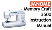 Buy your Janome New Home Memory Craft MC 3500 Sewing, Machine, User, Instruction, Manual, Handbook, Download Online at Bargain Box
