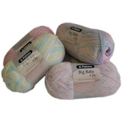 Buy your Patons Big Baby 4 ply knitting and crochet yarn Acrylic knitting, crochet and craft 'Wool' Yarn online at Bargain Box