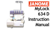 Buy your Janome New Home MyLock ML 634 D Overlocker Serger Sewing, Machine, User, Instruction, Manual, Handbook, Download Online at Bargain Box