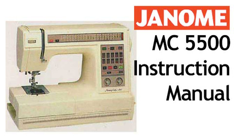 Buy your janome new home memory craft mc5500 sewing for Janome memory craft 3000