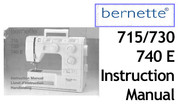 Buy your Bernette Models 715, 730 & 740E Sewing, Machine, User, Instruction, Manual, Handbook, Download Online at Bargain Box