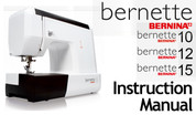 Buy your Bernette Models 10, 12 & 15 Sewing, Machine, User, Instruction, Manual, Handbook, Download Online at Bargain Box
