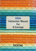 Buy your Brother KG93 Knitting Machine for Garter Carriage, User, Instruction, Manual, Handbook, Download Online at Bargain Box