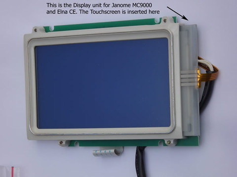 Buy your janome memory craft mc9000 replacement lcd for Janome memory craft 9000 problems