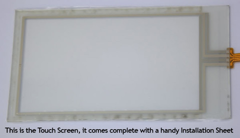 Touch Screen Unit as supplied  Buy your Janome Memory Craft MC9000 Replacement LCD Touchscreen, Online at Bargain Box