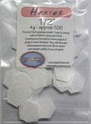 Buy your Precut Hexagonal water soluble applique paper 'Hexies' Online at Bargain Box