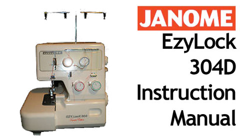 buy your janome new home ezylock 304 d overlocker serger sewing rh bargainbox com au Sewing Machine Cover Stitch Sewing Machines 300 00
