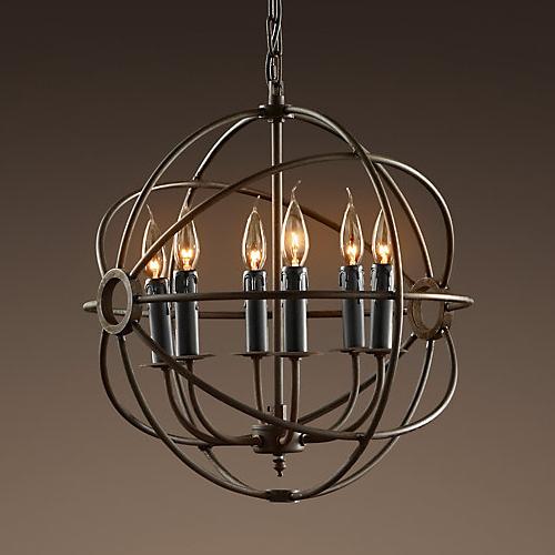 Replica foucaults iron orb chandelier zest lighting replica foucaults iron orb chandelier loading zoom aloadofball Image collections