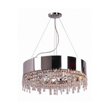 Ring Crystal Pendant Light