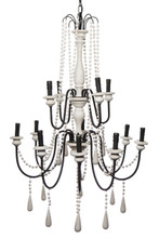 Hampton 12 Light Chandelier