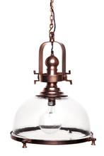 Conroy Industrial Antique Copper Spotlight Pendant