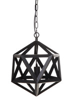 Staten Iron Geometric Pendant Light