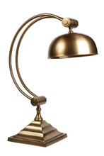 Southwark Antique Brass Desk Lamp
