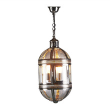 Madrid Nickel Hanging Lamp