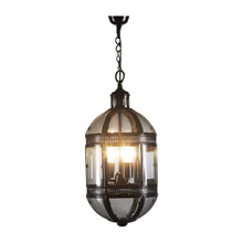 Madrid Bronze Hanging Lamp