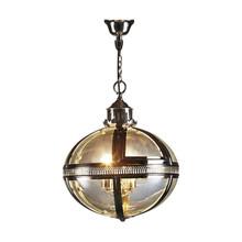 Glass Ball Pendant Light