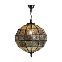 Mercury Bronze Glass Pendant Chandelier