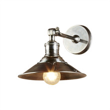Bristol Antique Silver Wall Sconce