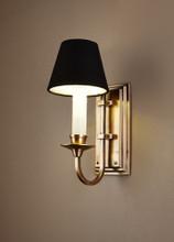 East Borne Antique Brass Wall Light