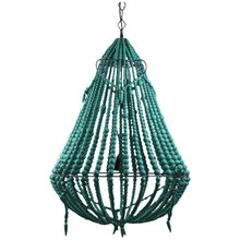 Beaded Chandelier - Mint