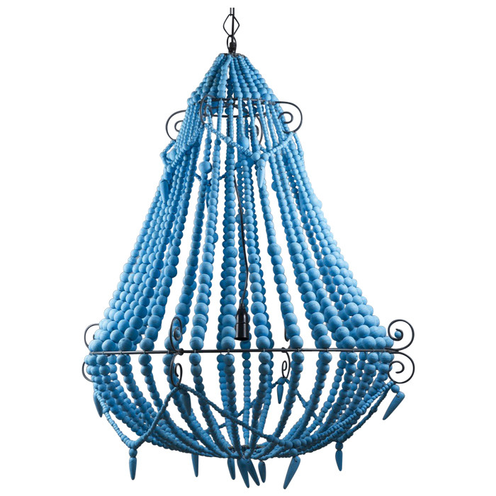 Beaded Chandelier Turquoise Loading Zoom