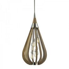 Bonito 6 Light Wood Pendant Light