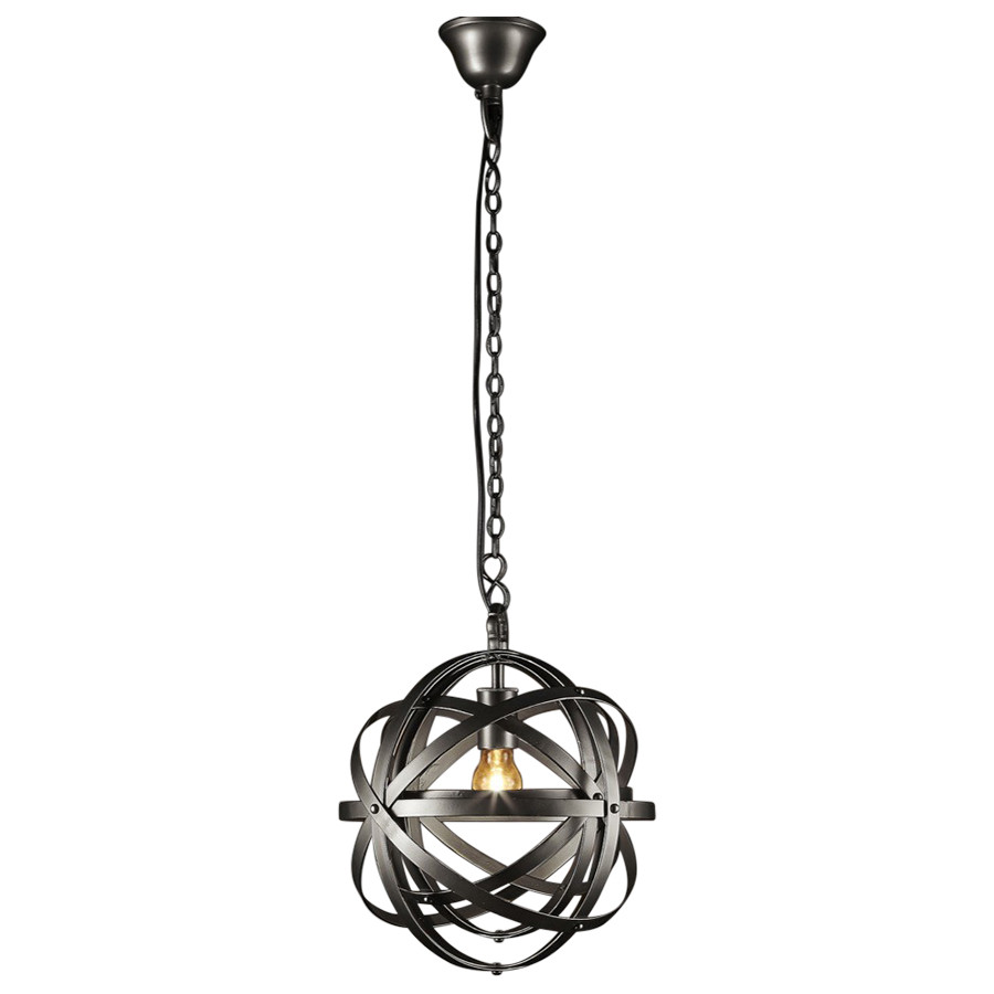 Michelangelo Silver Hanging Pendant Lamp Loading Zoom