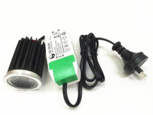 12W Cree LED Module with Dimmable LED driver Completed with flex & plug