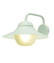 Marine Exterior Wall Light - Matte White