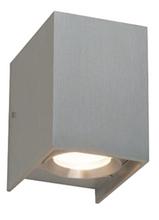 Downward Rectangular Exterior LED Wall Light