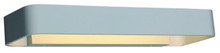 Linear Slimline Matt White Surface Mounted Wall Light
