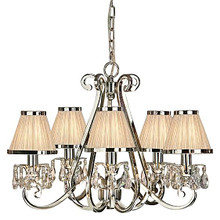 Luxuria 5 Light Chandelier by Viore Design