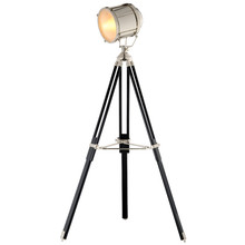 Vintage Nautical Tripod Floor Lamp