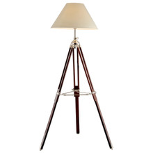 Campaign Surveyor Tripod Floor Lamp
