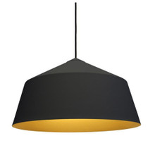 Replica Corinna Warm Circus Large Suspension Pendant Light in Black