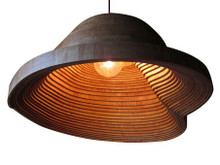 Replica Wood Twisted Light - B