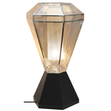 Chrome Table Lamp Perf Mesh