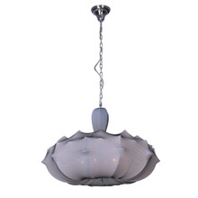 Stretch Fabric Pendant Light