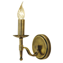 Stanford 1 Light Brass Candle Wall Lamp