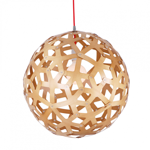 Bach Coral Wood Ball Pendant Light. Loading zoom  sc 1 st  Zest Lighting & Bach Coral Wood Ball Pendant Light - Zest Lighting azcodes.com