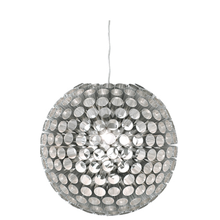 Tube Ball Chandelier