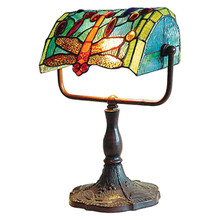 Dragonfly Banker Table Lamp